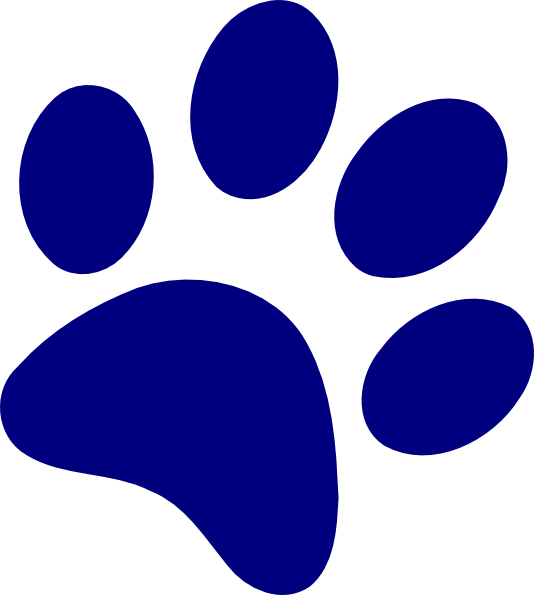 Pawprint clipart royalty free. Bobcat paw print clip