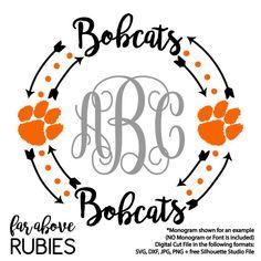 Bobcat clipart silhouette. Tiger paw lion svg