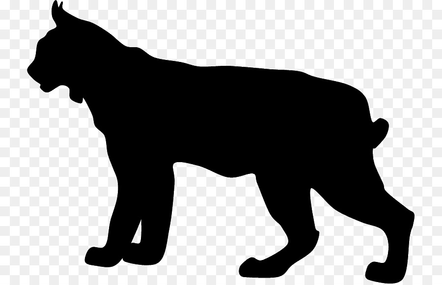 Bobcat clipart silhouette. Puma at getdrawings com