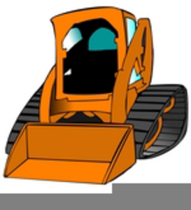 Skid steer free images. Bobcat clipart skidsteer