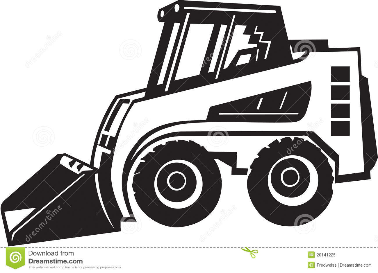 Bobcat clipart skidsteer.  collection of skid