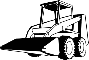 collection of skid. Bobcat clipart skidsteer