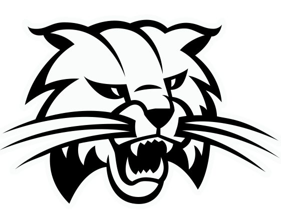 Superb free in clip. Bobcat clipart template