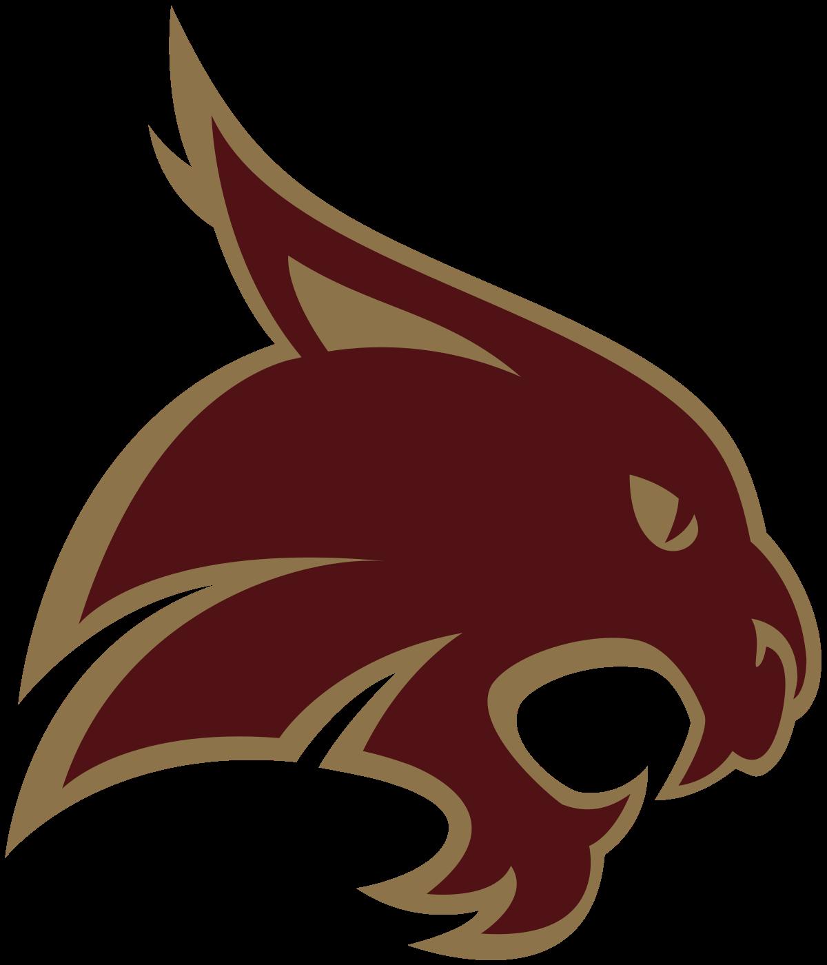Bobcat clipart texas state. Bobcats wikipedia