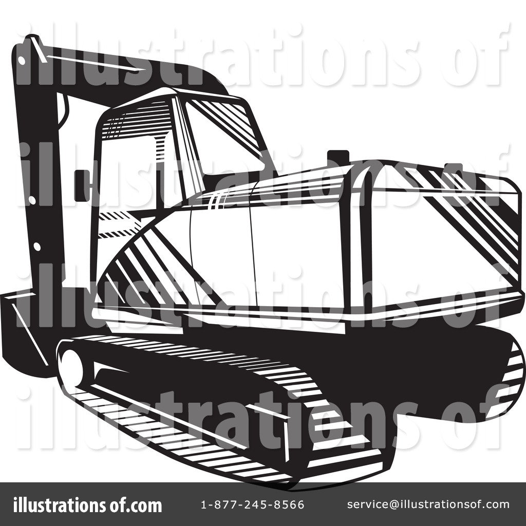 Bobcat clipart tractor. Illustration by patrimonio royaltyfree