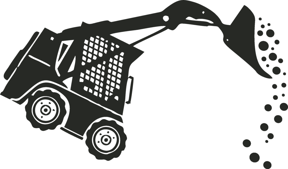 collection of skid. Bobcat clipart tractor