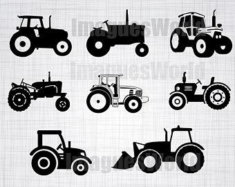 Cricut file etsy svg. Bobcat clipart tractor