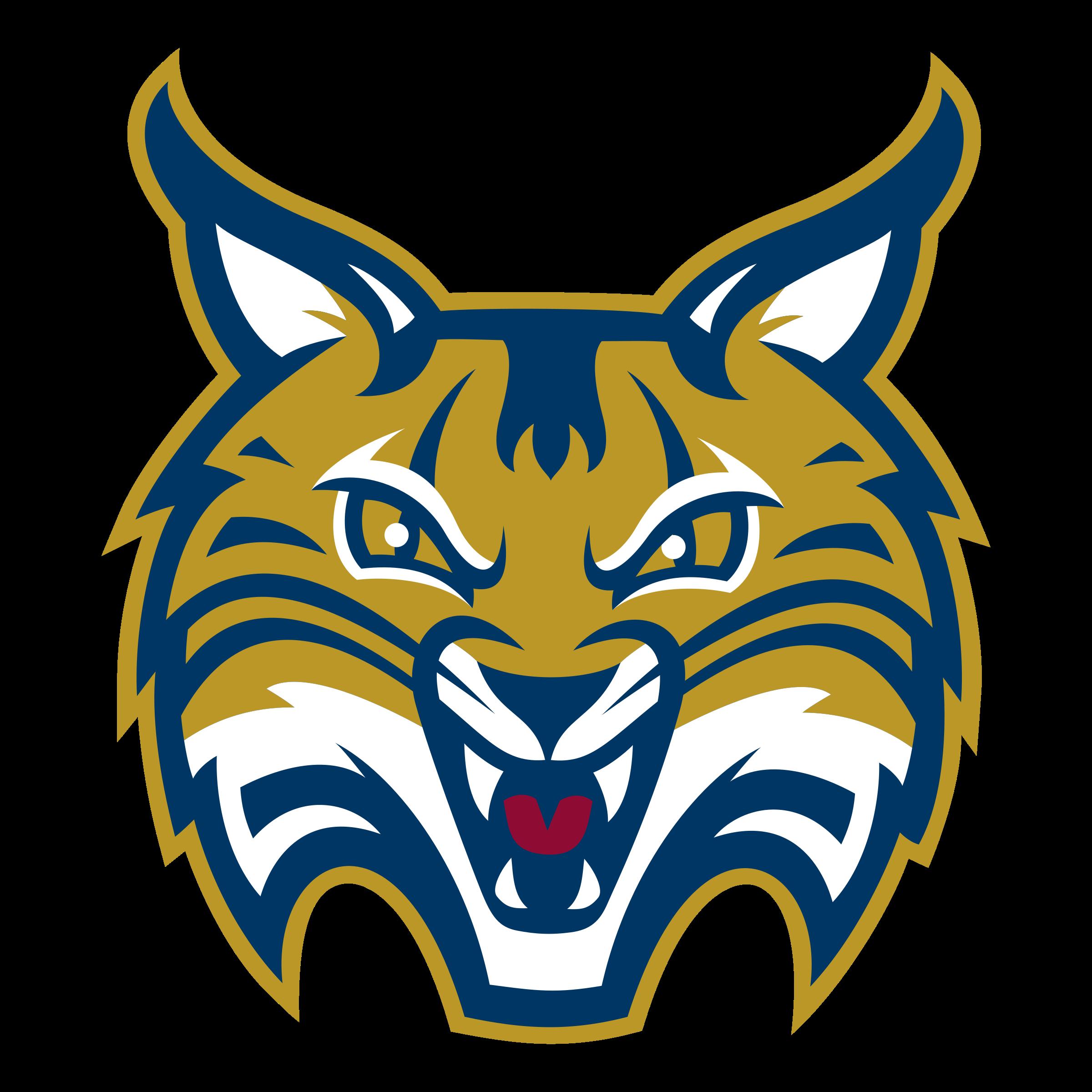 Bobcat clipart transparent. Quinnipiac bobcats logo png