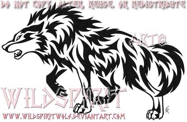 Bobcat clipart tribal. Black tattoo stencil by
