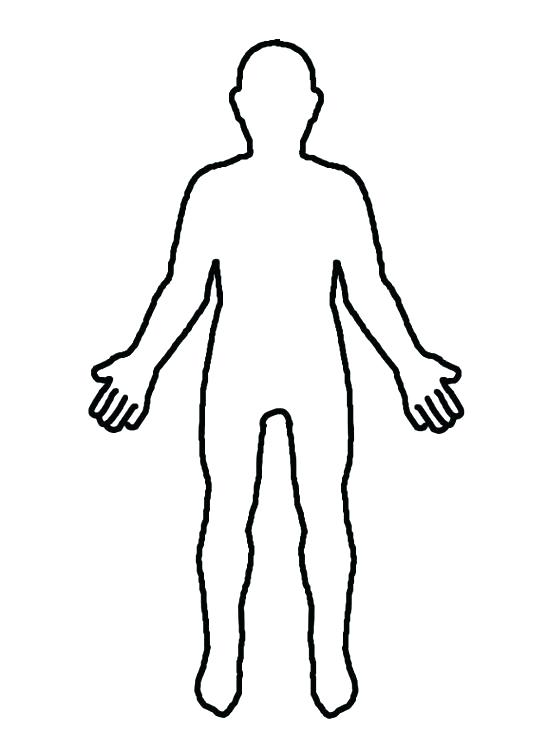 Body clipart. Silhouette clip art at