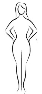 Body clipart body shape. Gymra best workouts for