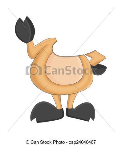 Reindeer character animal clip. Body clipart cartoon