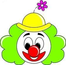 Cartoon clowns faces google. Body clipart clown