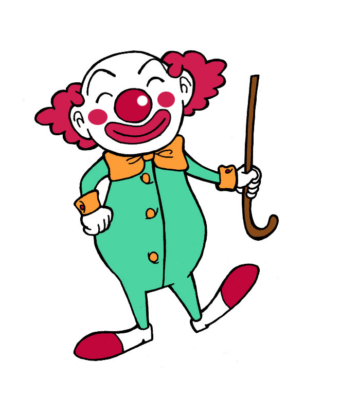 Clown clipart body. Free full download clip