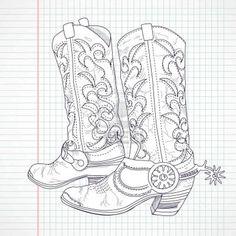 Boot clip art hand. Body clipart cowboy