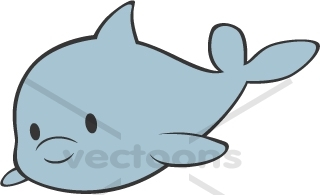 Body clipart cute. Baby dolphin whole panda