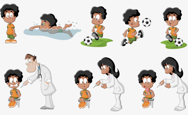 The checks child s. Body clipart doctor