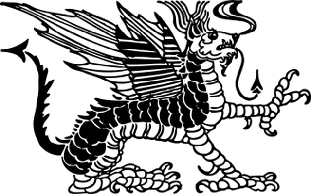 Body clipart dragon. Twisted