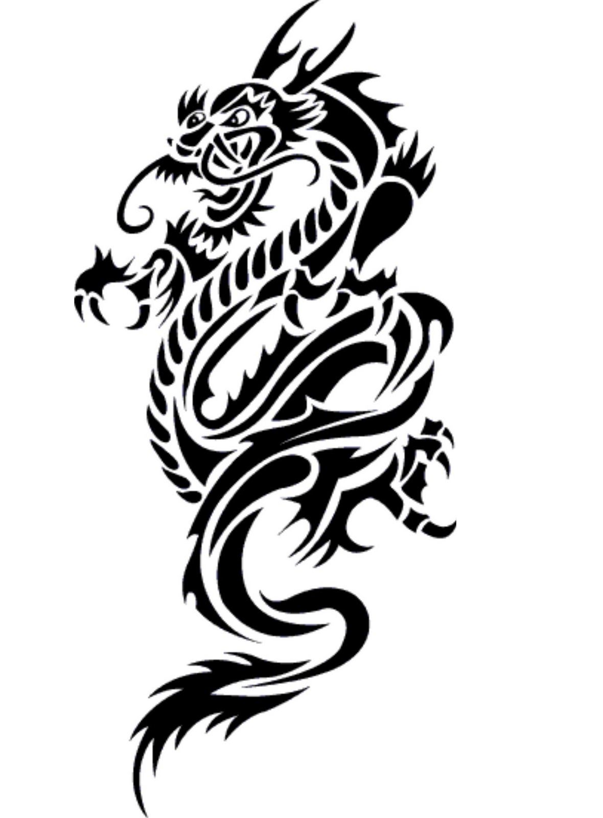 Tattoo designs the is. Body clipart dragon