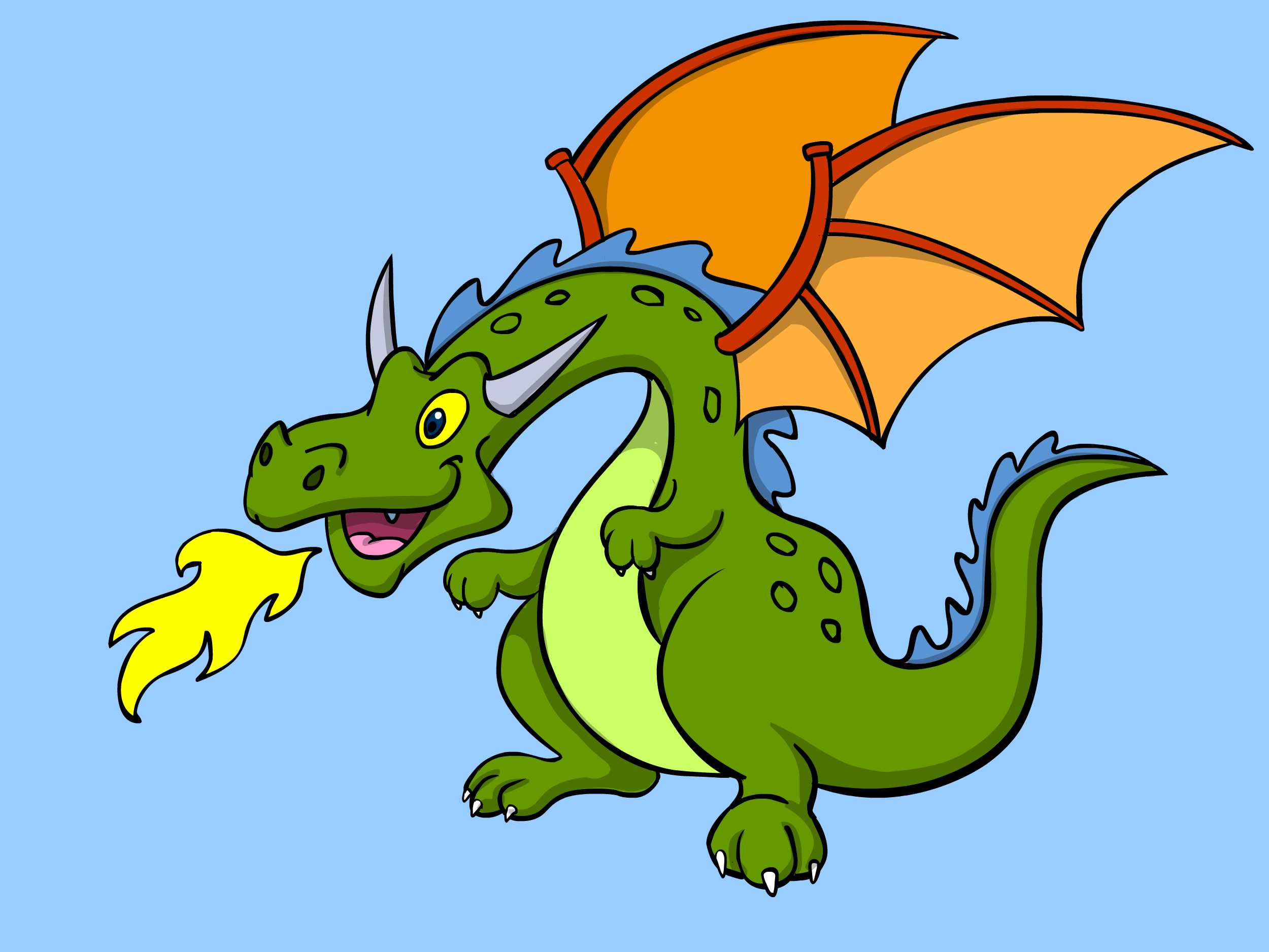 The best ways to. Body clipart dragon