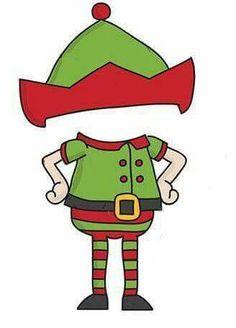 Body clipart elf. Christmas holding a blank