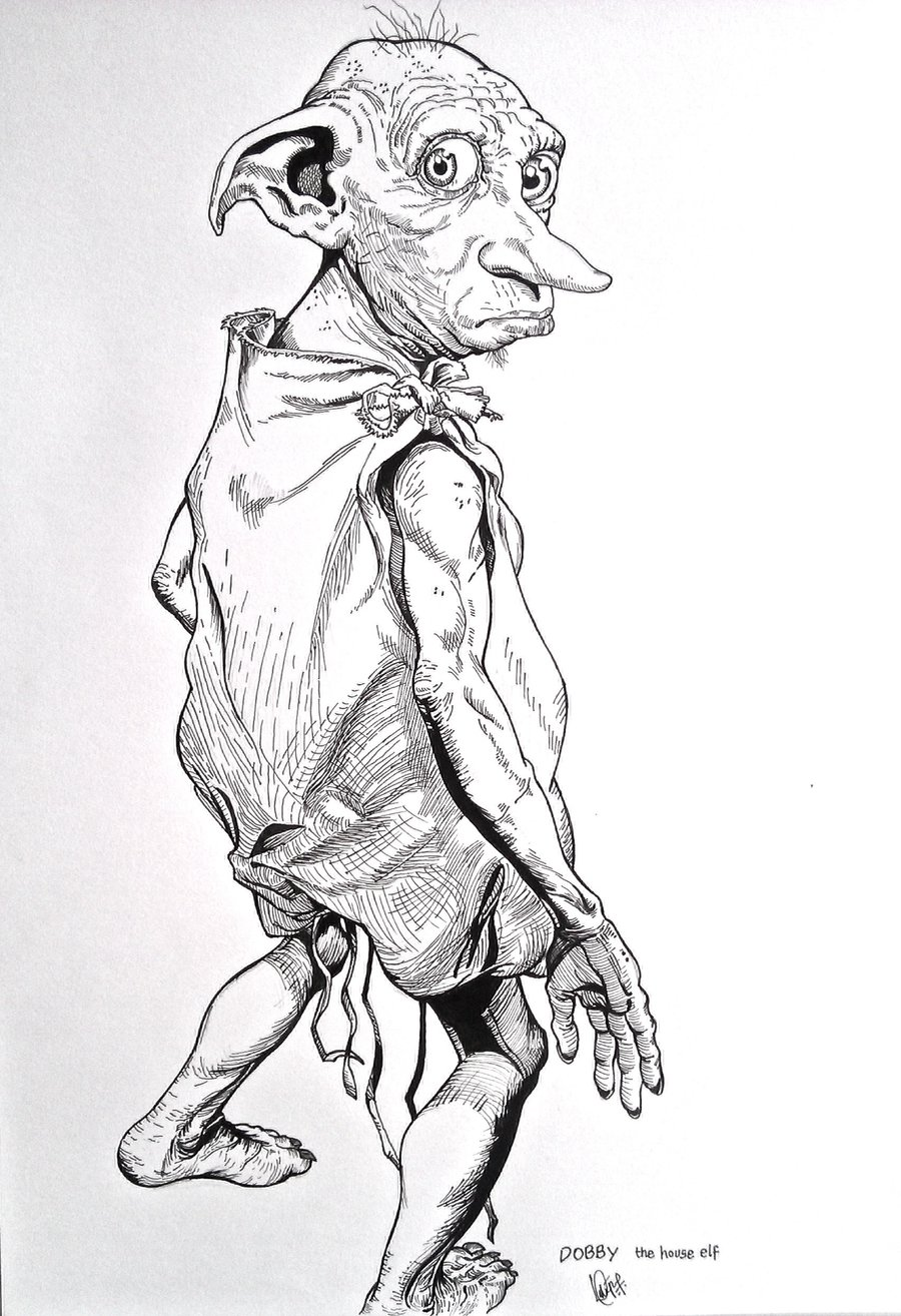 Dobby the free house. Body clipart elf