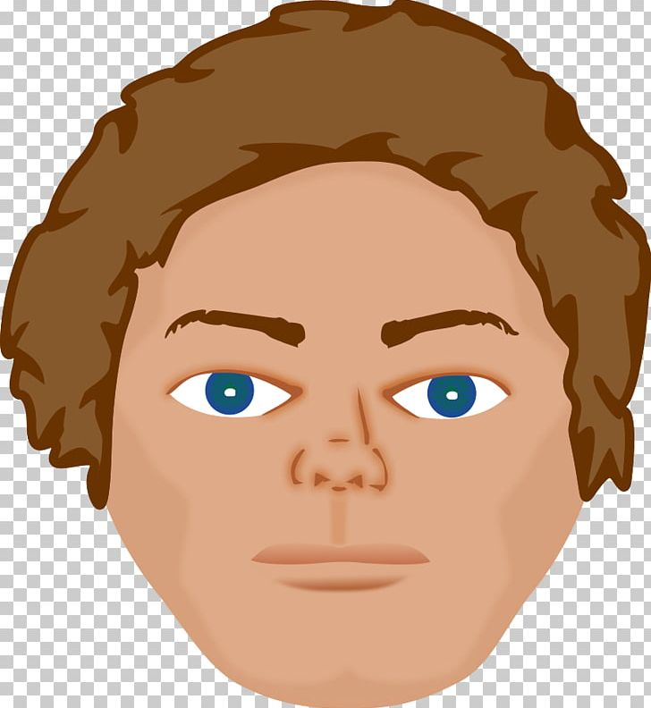 Human png brown hair. Body clipart face