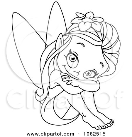 Best of outline drawing. Body clipart fairy