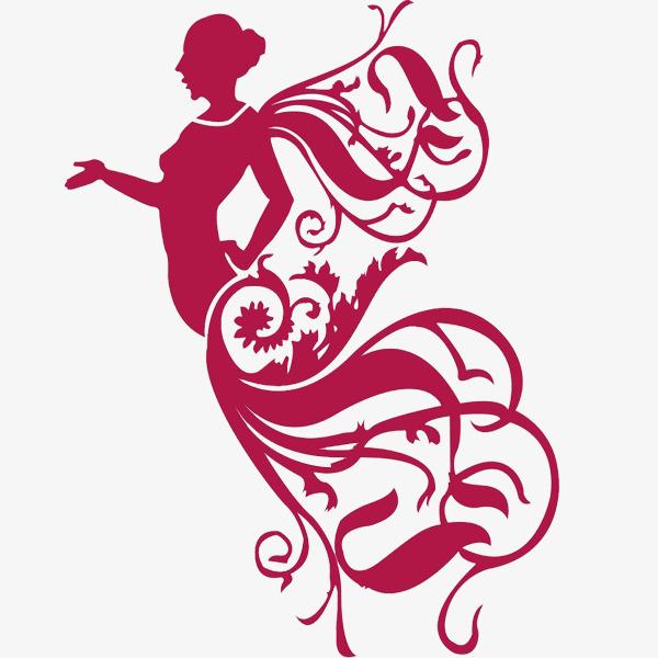 Body clipart fairy. Flying girl silhouette elf
