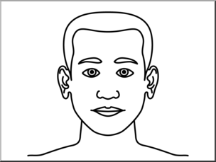 Body clipart head. Clip art parts of