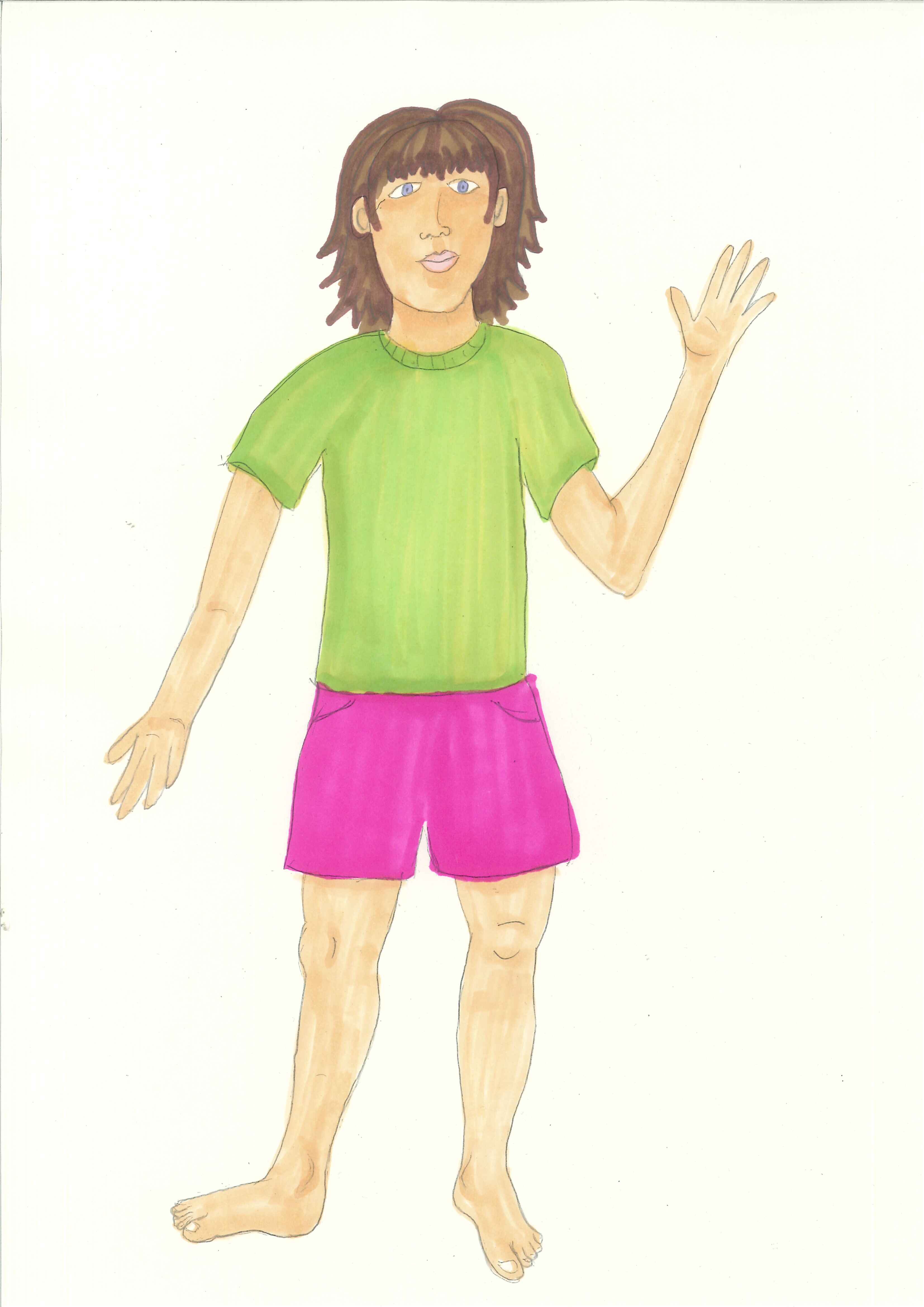 For kids parts. Body clipart human body