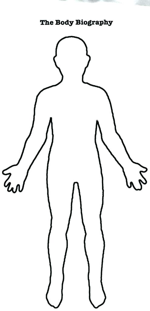 Body clipart person. Outline print ng fashion