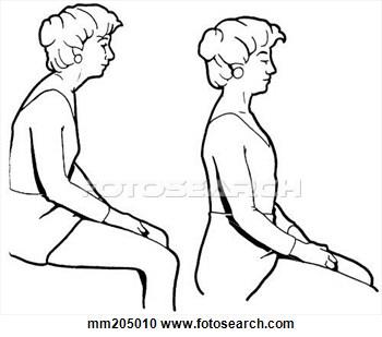 . Body clipart posture