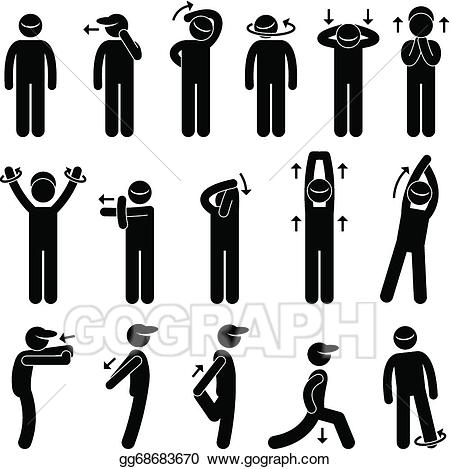 Body clipart posture. Clip art royalty free