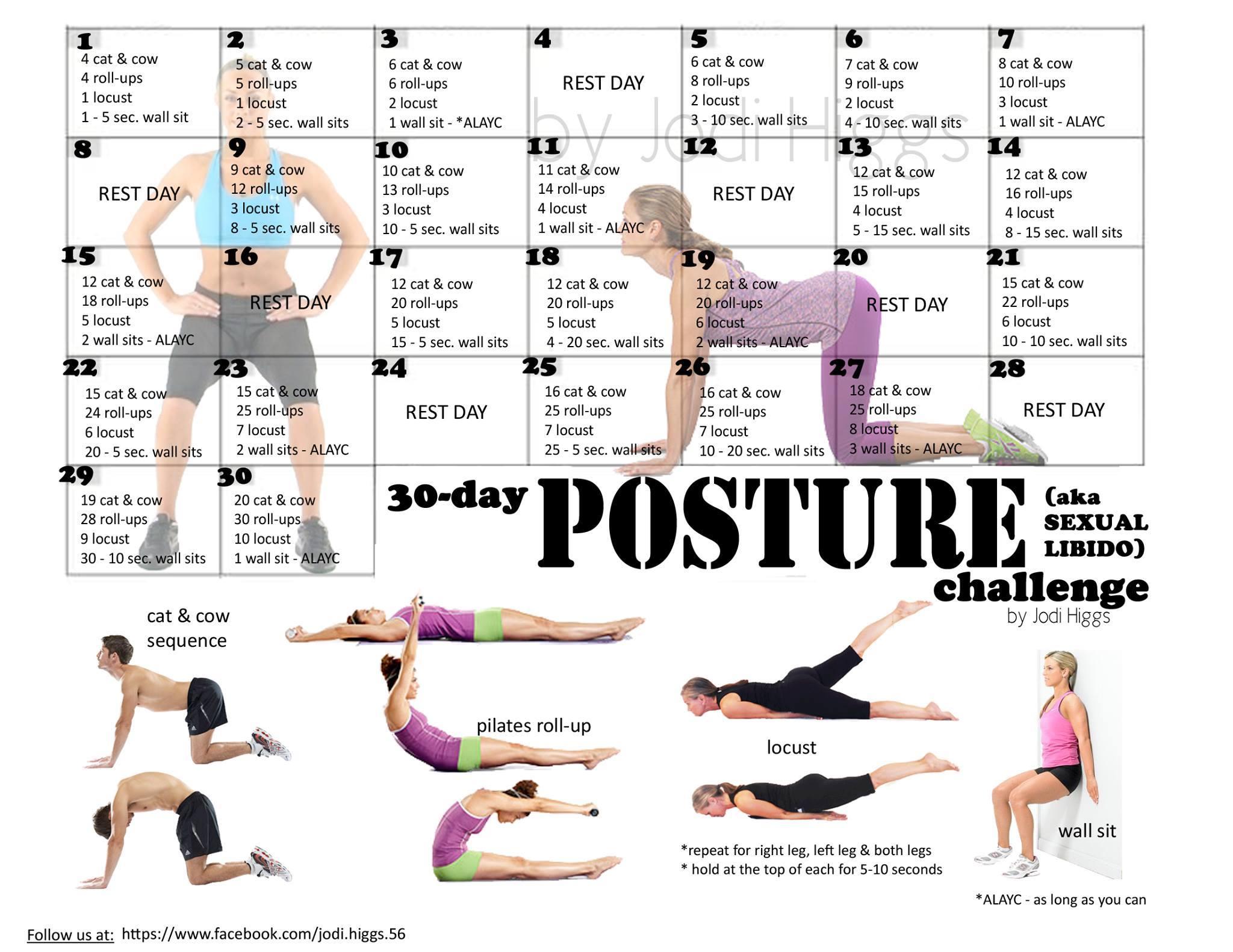 Challenge jodi higgs piper. Body clipart posture