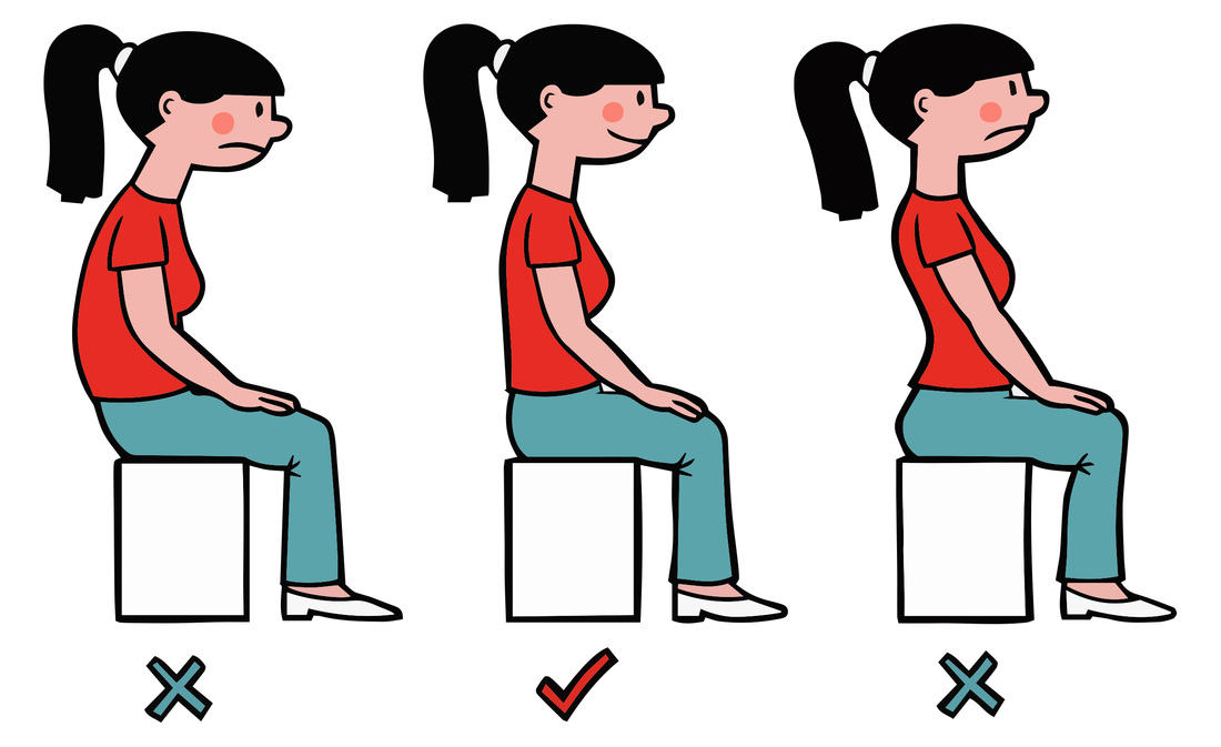 Good form starts with. Body clipart posture