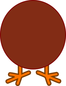 Brown turkey clip art. Body clipart public