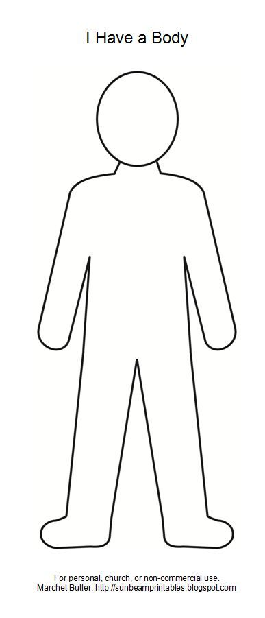 Body clipart puzzle. Outline google search teaching