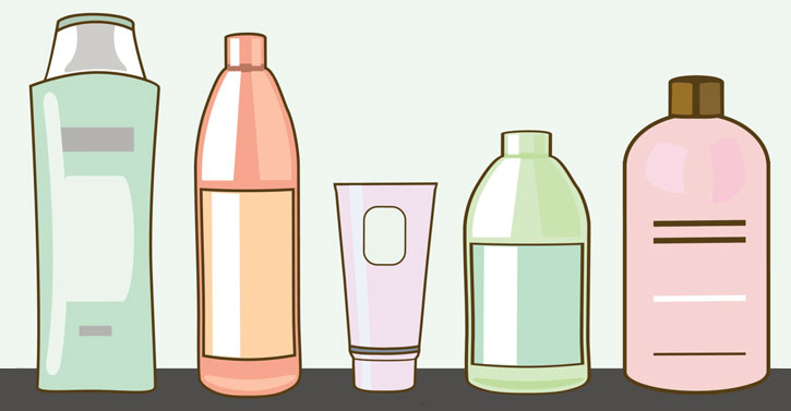 Body clipart skin. Best care products under