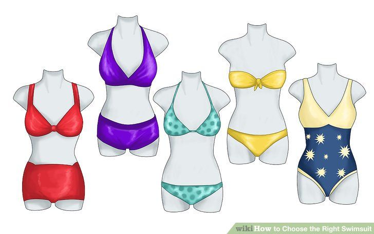 Body clipart swimsuit. How to choose the
