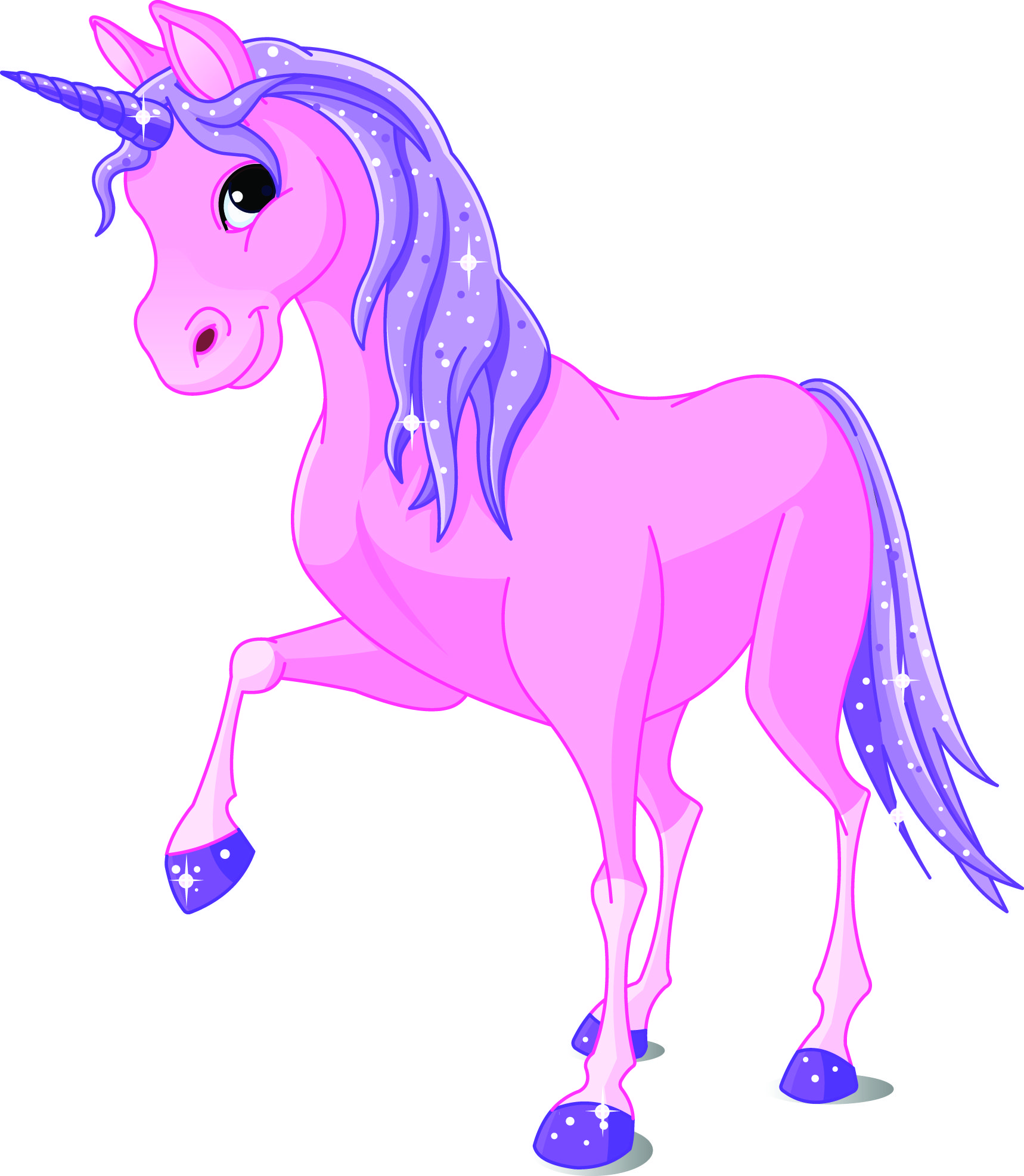 Body clipart unicorn. Cartoon images free cliparts