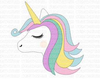 Body clipart unicorn. Svg head files face