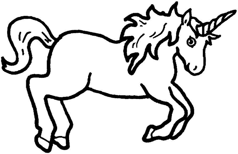 Body clipart unicorn. Easy drawing at getdrawings