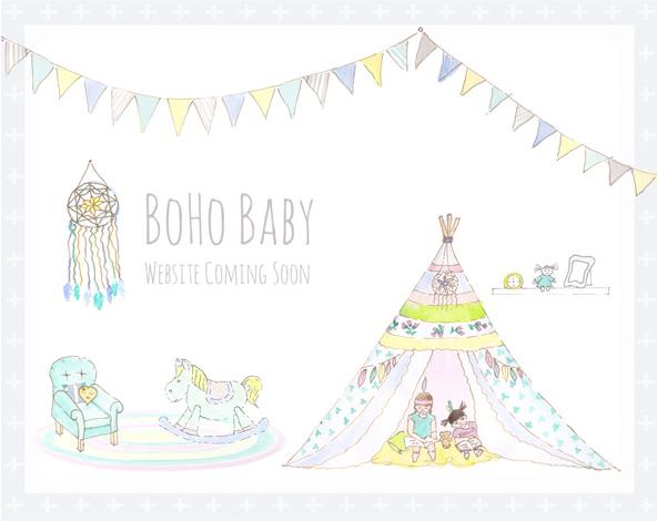 Boho clipart boho baby. Free landing page design