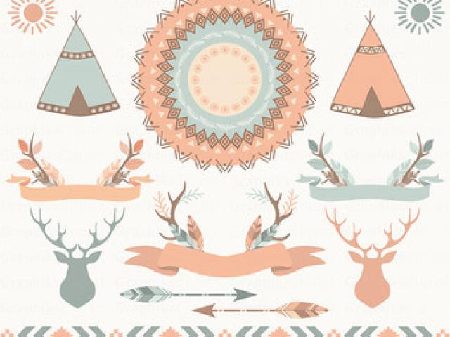 Boho clipart borders. Certificate free download clip