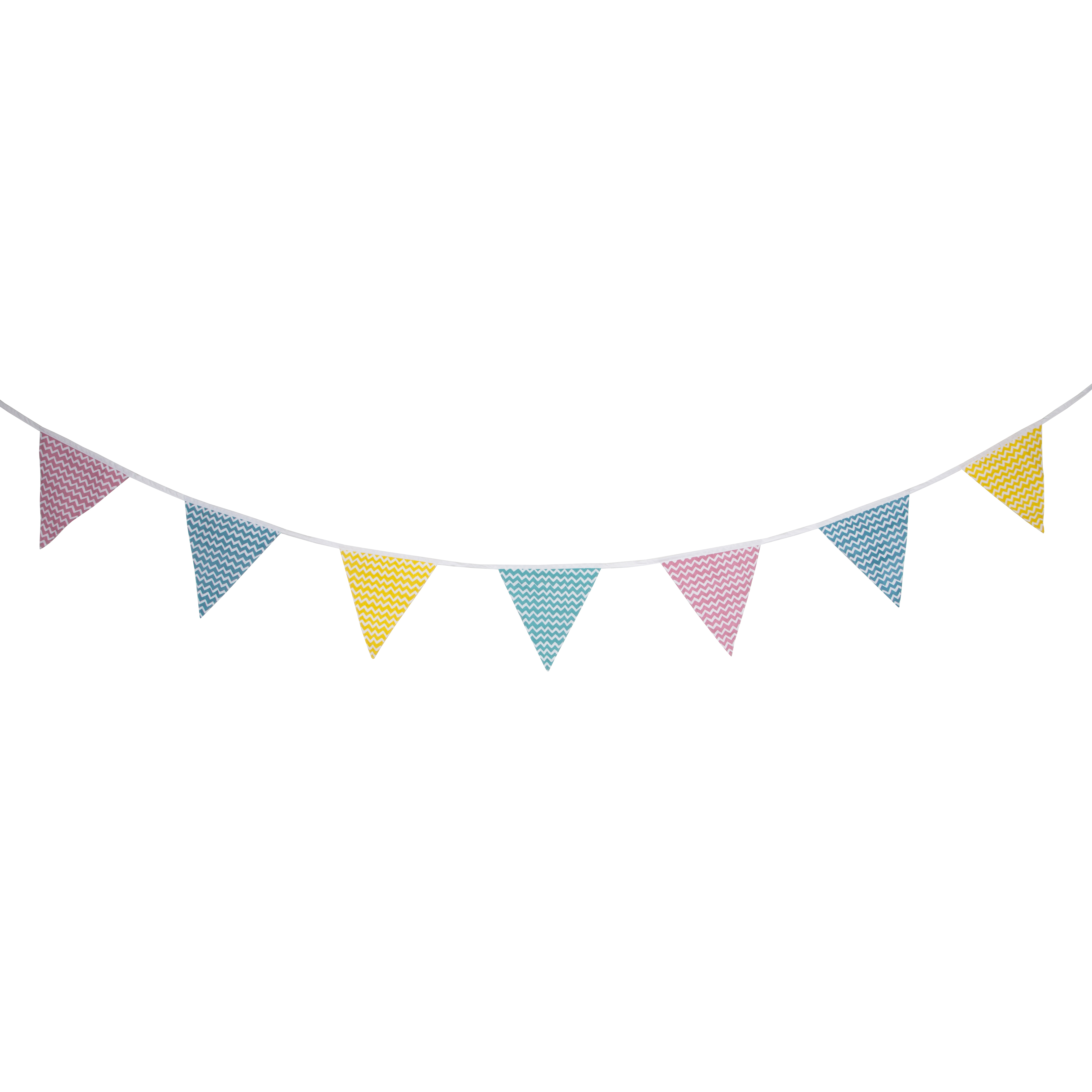Boho clipart bunting. Chevron in a pastel