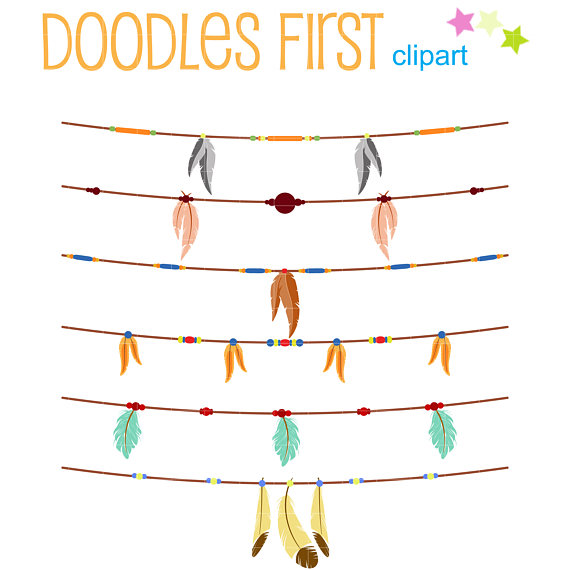 Buntings clip art for. Boho clipart bunting