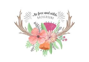 Boho clipart cute. Free vector art downloads