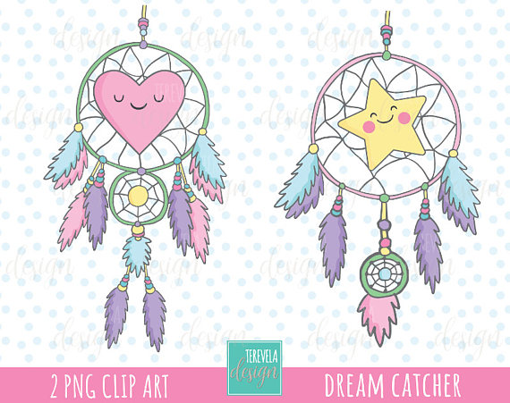sale dream catcher. Boho clipart cute
