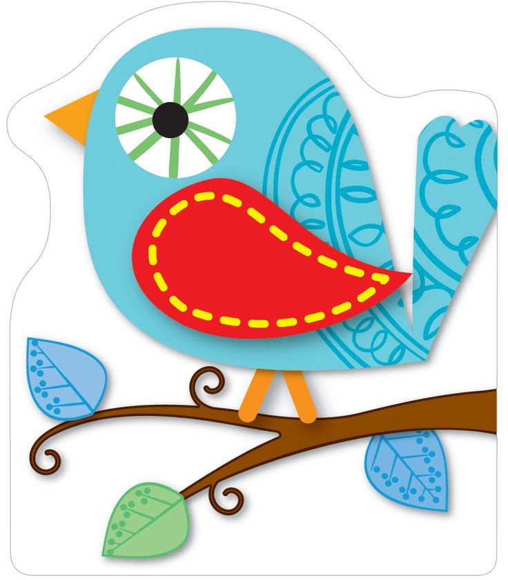 best theme birds. Boho clipart cute